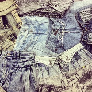 denim cut off shorts vice versa 550 5th ave Sourh Park Slope